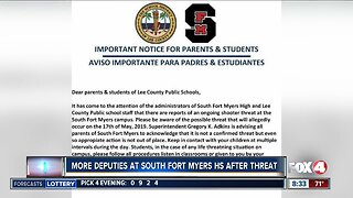 More deputies at South Fort Myers High School after threat