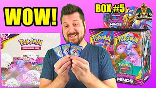 Unified Minds Booster Case (Box 5) | Mewtwo & Mew Hunting | Pokemon Opening