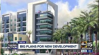 Large Mesa development should bring jobs and housing to downtown area - Video