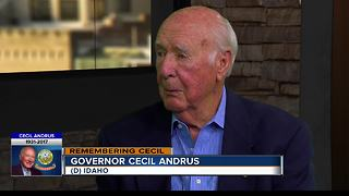 A fight to end, Governor Andrus' battle to keep nuclear waste out of the Gem State - Video