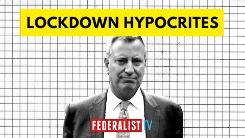 A Rundown Of Lockdown Leftists Ignoring Their Own Rules