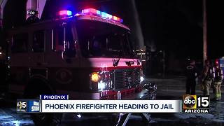 Phoenix firefighter who stole from fellow crews identified - Video