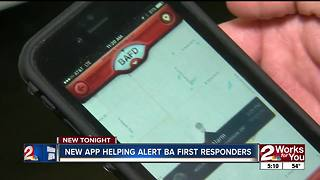 PulsePoint App in Broken Arrow Helping Save Lives - Video