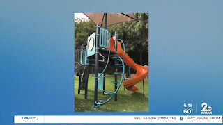 New playground unveiled in Baltimore County to help kids and young adults with autism