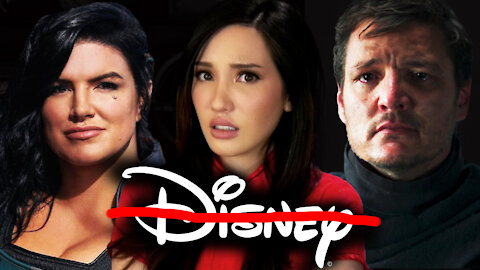 Gina Carano FIRED, Not Pedro Pascal? #CancelDisneyPlus