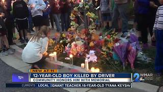 12-year-old boy remembered after he was struck and killed by driver - Video