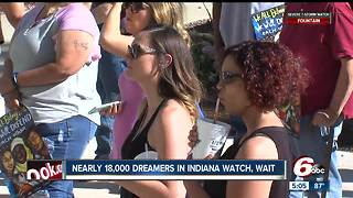 Nearly 18,000 people in Indiana react to Trump's possible action on DACA - Video