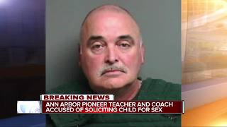 Ann Arbor teacher, coach arrested for child sexually abusive activity - Video