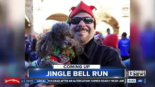 Jingle Bell Run raising money for Arthritis Foundation - Video