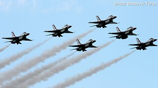 Thunderbirds to fly over San Diego to honor medical workers