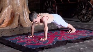6-Year-Old Wins Free Apartment For His Family After Performing 3720 Push Ups In Two Hours