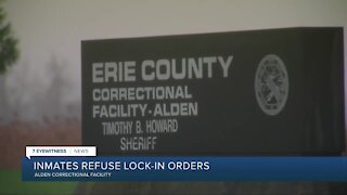 Loss of microwave sparks inmates refusing lock-in orders at Erie Co. Correctional Facility, union