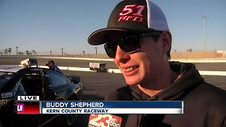 Buddy Shepherd talks about upcoming NASCAR races - Video