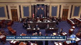 Local business owners excited about new tax bill - Video