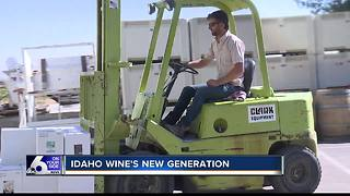 At Kuna's Indian Creek Winery, wine is a family business - Video