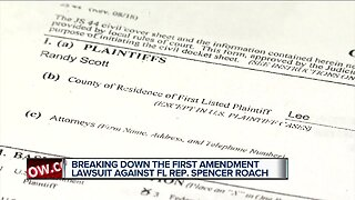 Breaking down the first amendment lawsuit against Florida State Representative Spencer Roach