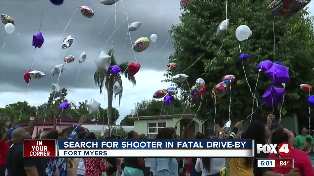 Search for shooter in fatal drive-by