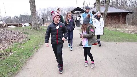 People from all across Northeast Ohio are using the region's extensive park systems to get out of the house.