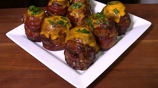 Erupt and Eat Up: Try These Barbecue Volcano Potatoes - Video