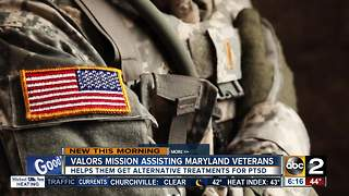 Valors Mission aims to help veterans with PTSD - Video