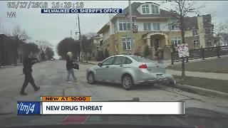 High-speed chase from Sheboygan to Milwaukee uncovers opioid alternative drug threat - Video