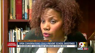 Counselor: Open conversations could prevent school shootings