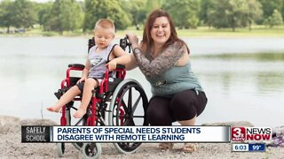Parents of special needs students disagree with remote learning