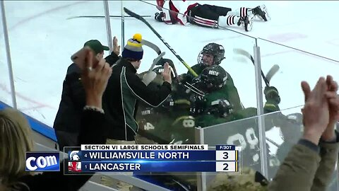 Both Large School semi-final boys' hockey games need overtime