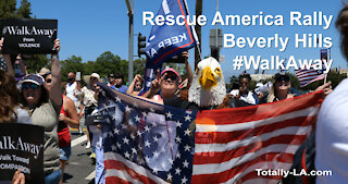 #WalkAway Rescue America Rally in Beverly Hills
