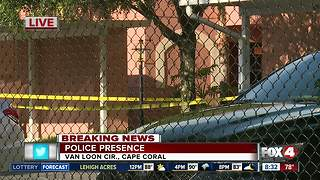 Homicide investigation in Cape Coral - Video