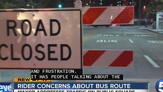 Rider Concerns About Bus Route - Video