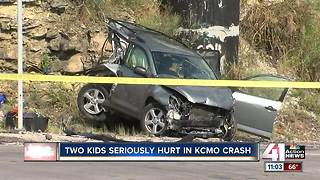 Toddler, several others hurt in crash - Video