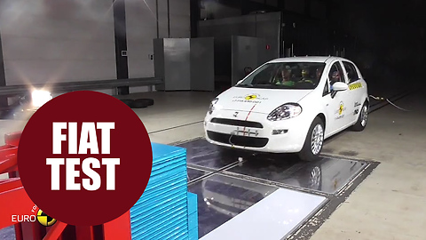 Fiat supermini is first car to be awarded zero stars in EuroNCAP crash test