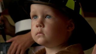 3-year-old fighting cancer gets firefighting wish - Video