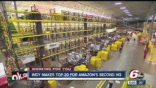 Encouraging economic news as Indianapolis makes top 20 for Amazon's second headquarters - Video
