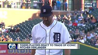 Tigers players react to Verlander trade - Video