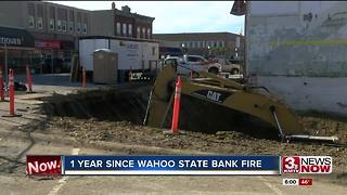 Wahoo State Bank rebuilding after fire - Video