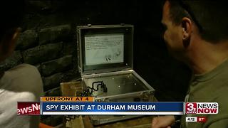 Durham exhibit lets you be a spy - Video