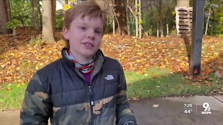 Acts of Kindness: 10-year-old's mission to collect food