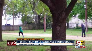 Former officer to be sentenced for murder