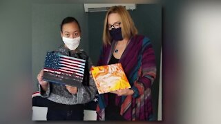 KC teen creates masterpieces to raise money for charities