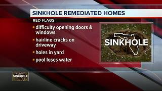 Is it worth it to buy a home that has been fixed up after a sinkhole? - Video