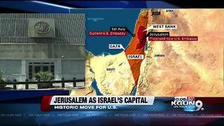 Tucsonans weigh in on Jerusalem decision - Video