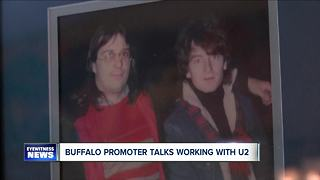 Buffalo promoter recalls working with U2 - Video