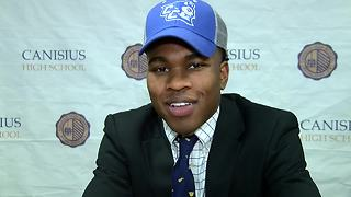Kenyatta Huston signs with Central Connecticut State - Video
