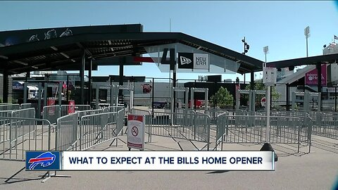 Buffalo Bills home opener: what fans can expect