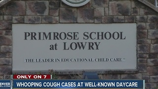 Pertussis reported at Primrose School at Lowry in Denver - Video