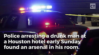 Cops Find Hotel Room Arsenal Before New Year's Eve Bash - Video