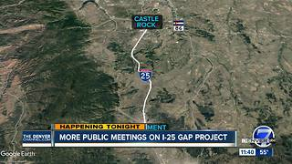 I-25 Gap project update - Video