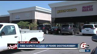 Fishers police arrest 2 teens, 1 adult in shooting - Video